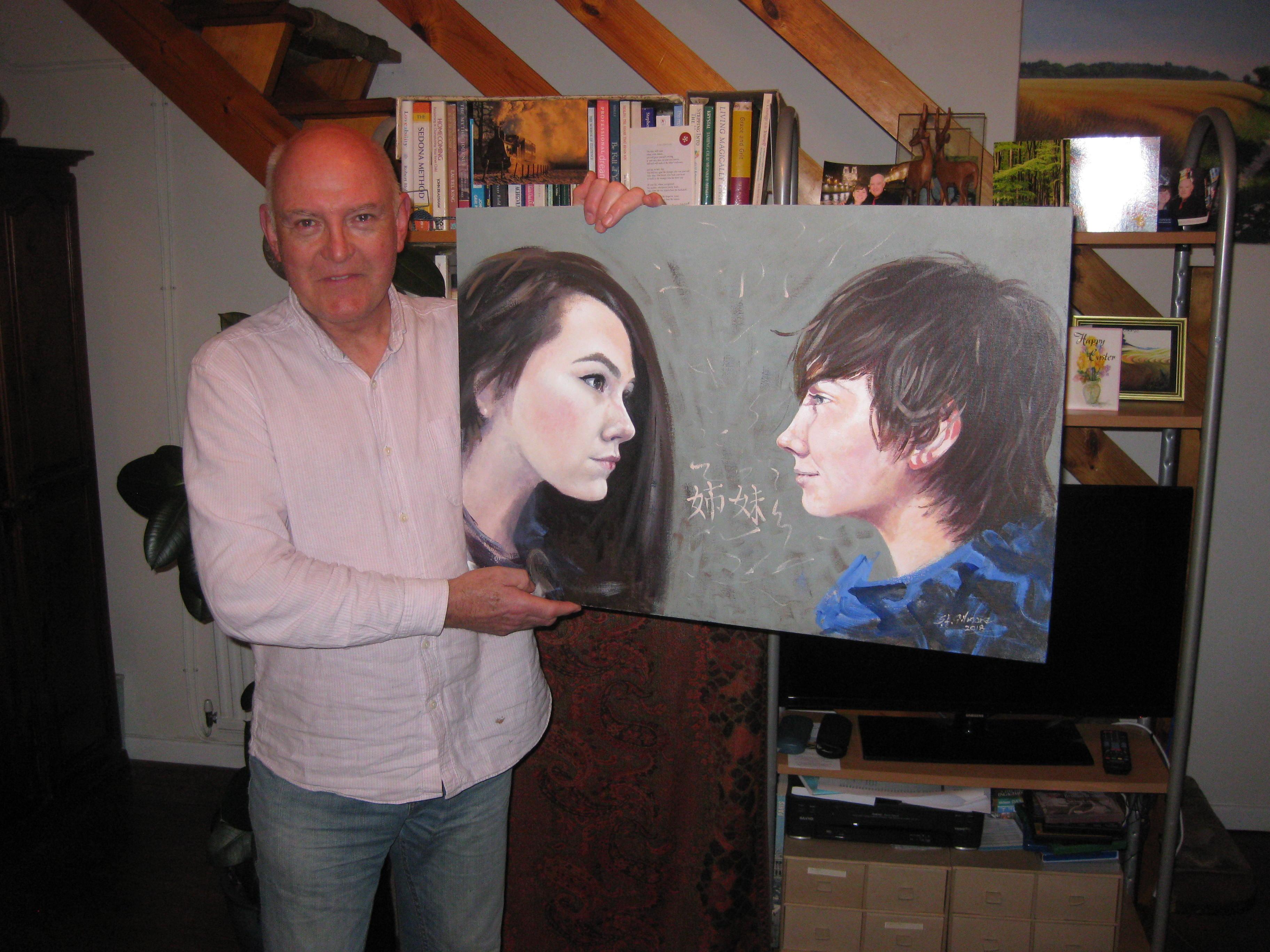 Buy portrait painting in Swindon